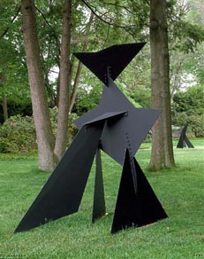 Alexander Calder's Ploygons On Triangles