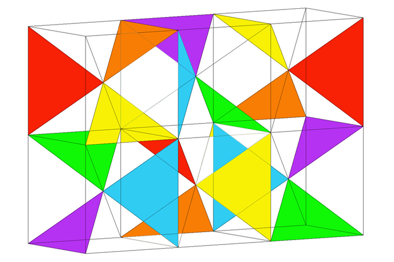 Study for Triangulated Cubes