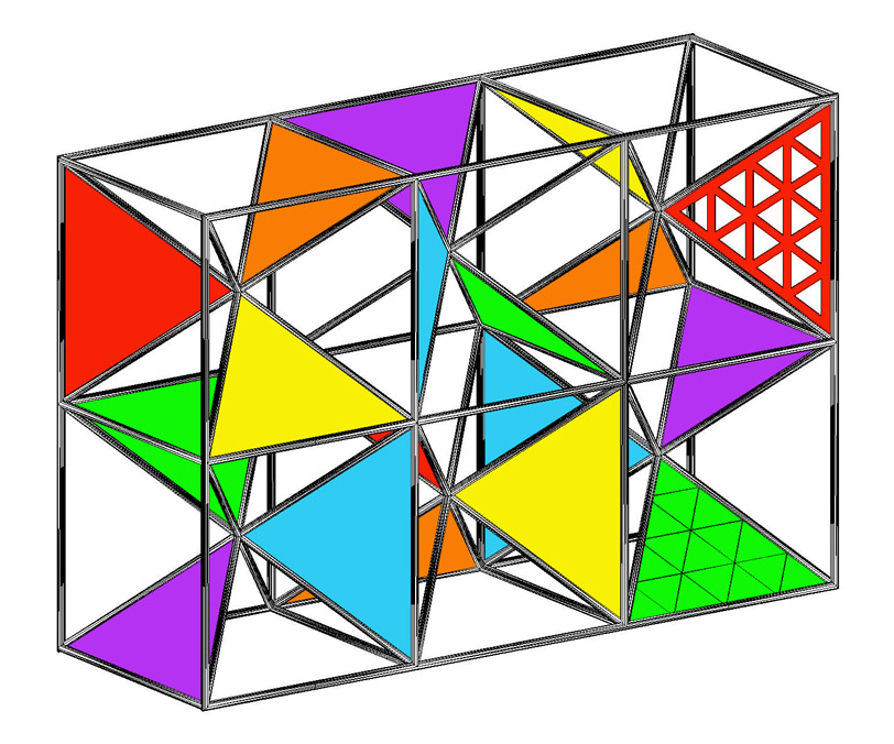 Triangulated Cube study