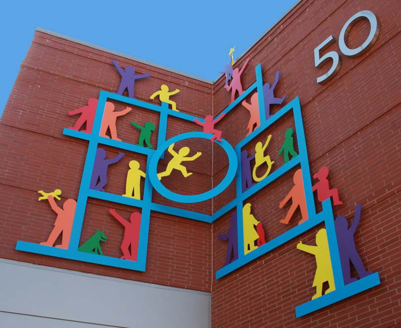 Wall Sculpture - Baystate Children's Hospital