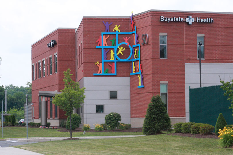 Baystate Children's Hospital Wall Sculpture