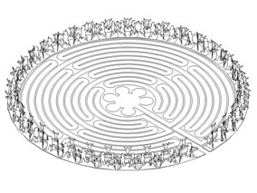 Community Circle - Labyrinth Surround