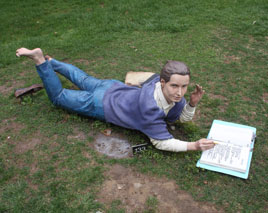 """Summer Thinking"" - Seward Johnson"