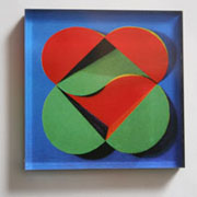 Intersecting Hearts Magnet