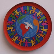 Think Peace magnet